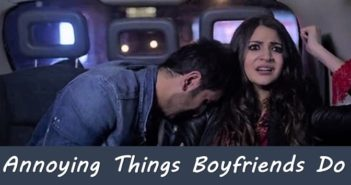 annoying things boyfriends do