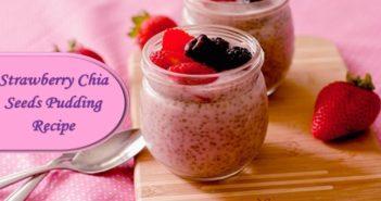 Strawberry Chia Seeds Pudding Recipe