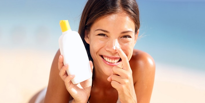 First sunscreen then, tinted moisturizer