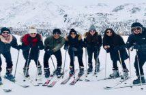 celebs who gave us major winter vacay goals