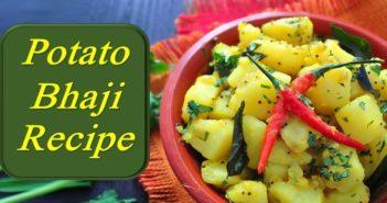 Potato bhaji recipe