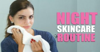 Description: Maintain the beauty of your skin by following this simple night-time regime.