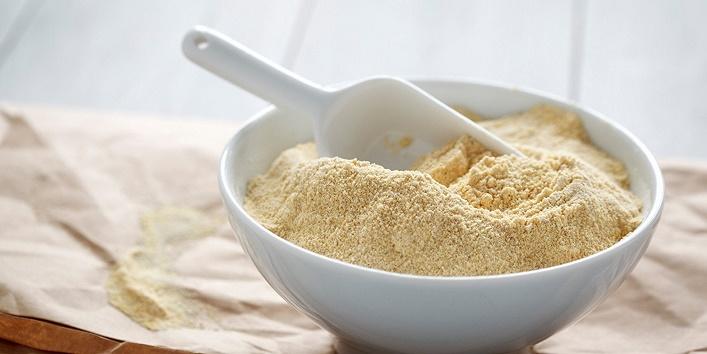 Gram flour with honey
