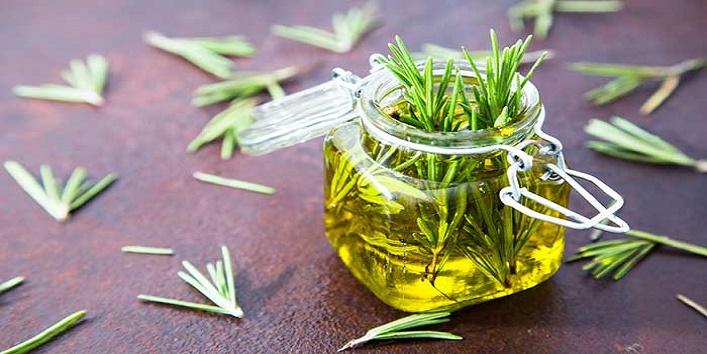 Rosemary oil blend for repairing sun damaged hair