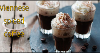 Viennese spiced coffee