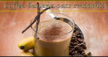 coffee banana oats smoothie
