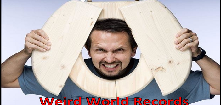 10 MOST WEIRD WORLD RECORDS EVER SET