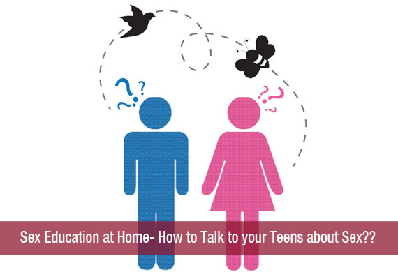 Opinion Talking to your teenager about sex thanks