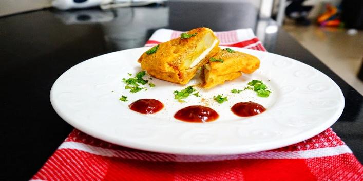 Cheese Bread Pakora1