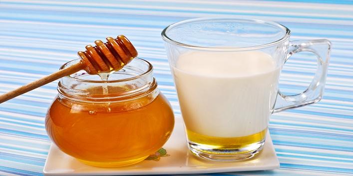 milk with honey